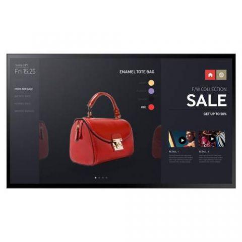 "Samsung LH43PMFXTBC/ZA pantalla de señalización Pantalla plana de señalización digital 109.2 cm (43"") LED Full HD Negro Tizen 2.4"