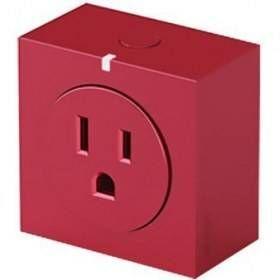 Contactos Inteligentes Wifi Orvibo S31-R-120V enchufe inteligente Rojo