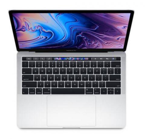 """MacBook Pro Apple MacBook Pro Computadora portátil 33.8 cm (13.3"""") 2560 x 1600 Pixeles 8ª generación de procesadores Intel® Core™ i5 8 GB LPDDR3-SDRAM 512 GB Flash macOS Mojave Plata"""