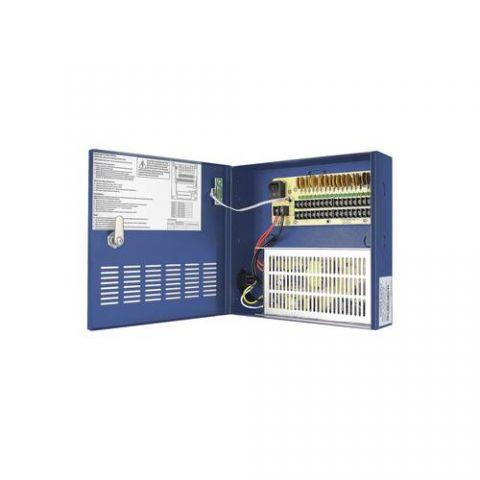 Gabinete EPCOM Gabinete de Energía 18 Canales - 30 Amperes, 12 Vcd, 30A, Gabinete XP18DC30HD
