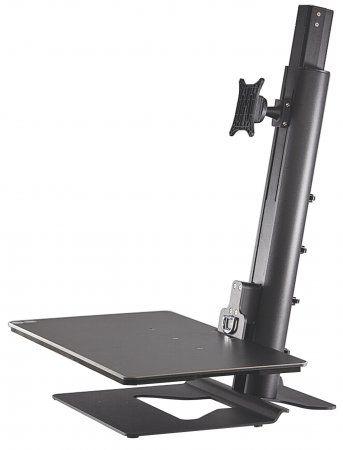 "Soportes para PC Manhattan 461269 soporte para pantalla plana 76.2 cm (30"") Independiente Negro"