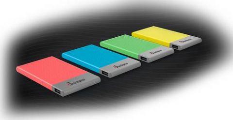 Power Bank Blackpcs EPBB2-5000 batería externa 5000 mAh Azul