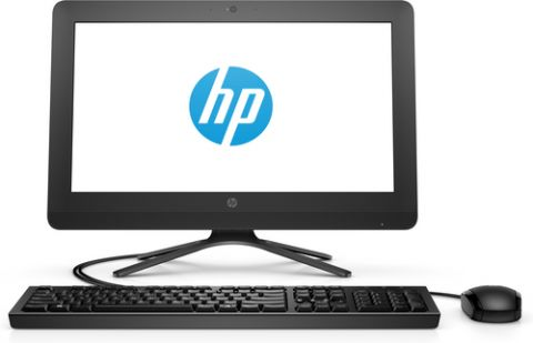 """All in One HP 20 -c408la 49.5 cm (19.5"""") 1600 x 900 Pixeles Intel® Core™ i3 de la séptima generación 4 GB DDR4-SDRAM 1000 GB Unidad de disco duro Windows 10 Home Wi-Fi 5 (802.11ac) PC todo en uno Negro"""