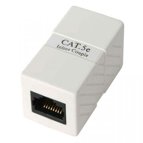 Adaptador para red StarTech.com Caja de Empalme Acoplador Cable Cat5 Ethernet UTP - 2x Hembra RJ45 - Blanco