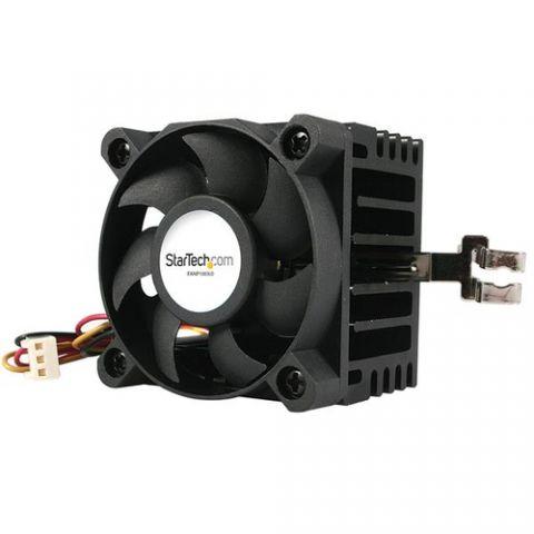 Enfriamiento y Ventilación StarTech.com Ventilador para CPU Socket 7/370 de 50x50x41mm con Disipador de Calor y Conectores TX3 y LP4