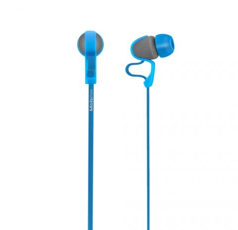 Accesorios para Electronica Mobifree MB-916400 audífono y auriculare Auriculares Intra auditivo Conector de 3.5 mm Azul