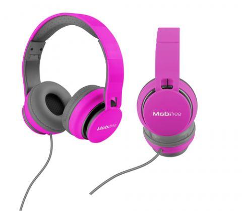 Accesorios para Electronica Mobifree MB-916370 audífono y auriculare Auriculares Diadema Conector de 3.5 mm Rosa