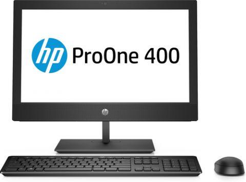 "Desktop HP ProOne 400 G4 58.4 cm (23"") 1920 x 1080 Pixeles 8th gen Intel® Core™ i3 4 GB DDR4-SDRAM 1000 GB Unidad de disco duro Windows 10 Pro Wi-Fi 5 (802.11ac) PC todo en uno Negro"
