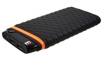 Power Bank Blackpcs Kronos batería externa Polímero 20000 mAh Negro, Naranja