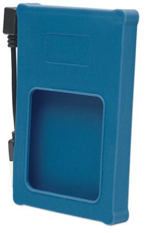 "Gabinete para disco duro Manhattan 130110 caja para disco duro externo Caja de disco duro (HDD) Azul 2.5"""