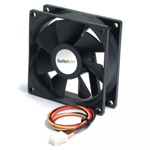 Enfriamiento y Ventilación StarTech.com Ventilador de Repuesto para Gabinete de Computadora 60x25mm con Conector TX3 - Rodamiento Doble de Bolas Recirculantes