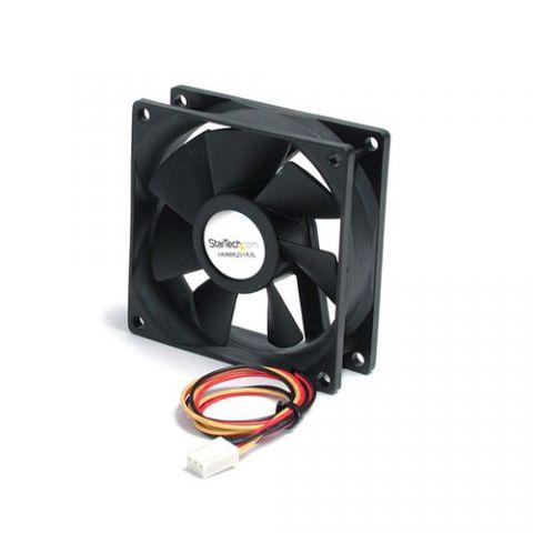 Enfriamiento y Ventilación StarTech.com Ventilador de Repuesto para Disipador de Procesador o Caja Chasis PC - 80mmx25mm - TX3