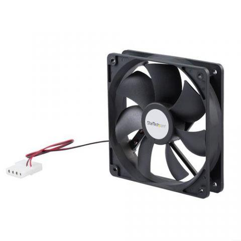 Enfriamiento y Ventilación StarTech.com Ventilador Fan para Chasis Caja de Computadora PC Torre - 120x25mm - Conector LP4