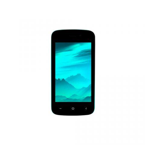 "Celular Bleck BE fr 10.2 cm (4"") SIM dual 3G 0.5 GB 4 GB 1400 mAh Color aguamarina, Negro"