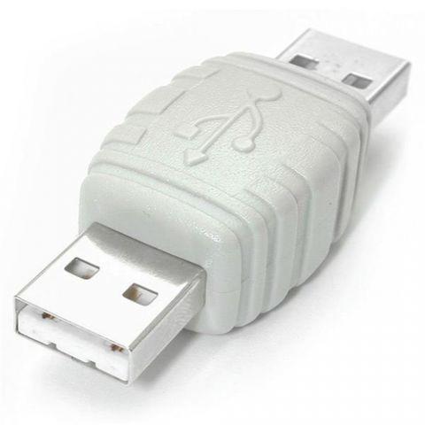 Adaptador USB red StarTech.com Adaptador de Cable USB A Macho a USB A Macho