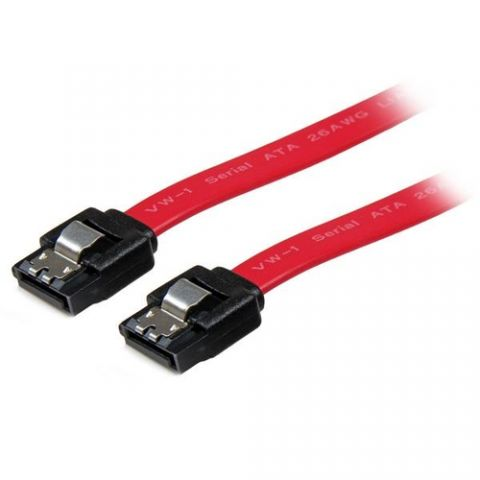 Adaptadores para Disco Duro StarTech.com Cable SATA Serial ATA 45cm con Seguro Cierre de Seguridad Bloqueo con Pestillo Latching