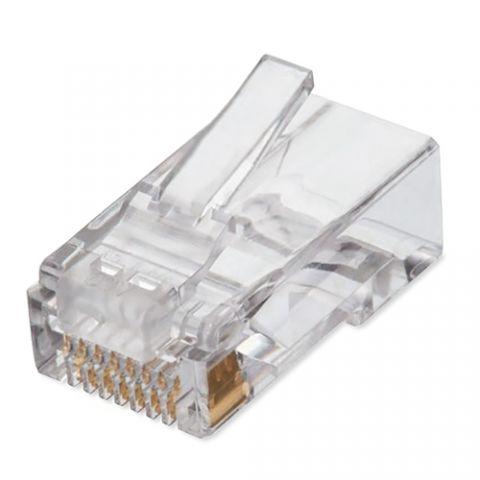 Adaptador para red Qian NW6100 conector RJ-45 Transparente