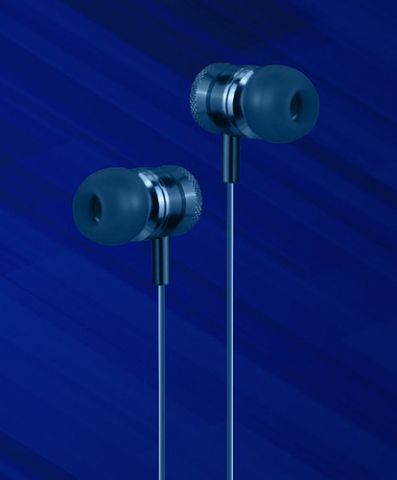 Accesorios para Electronica Naceb Technology NA-0305A audífono y auriculare Auriculares Intra auditivo Conector de 3.5 mm Azul