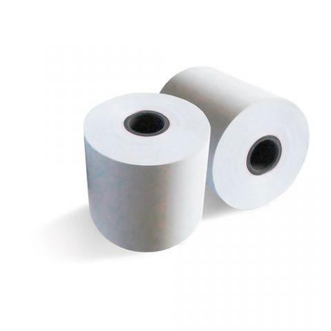 Rollo de Papel Qian  Autocopiante ANJET 57 mm  X 60 mm (6Pq) - 6 rollos, Color blanco, Rollo QCT576006