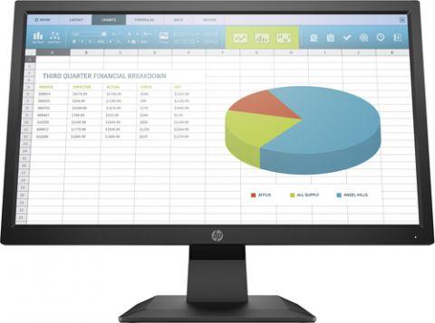 "Monitor HP P204 49.5 cm (19.5"") 1600 x 900 Pixeles HD+ Negro"