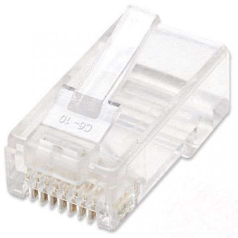 Adaptador para red Intellinet 502344 conector RJ-45 Transparente