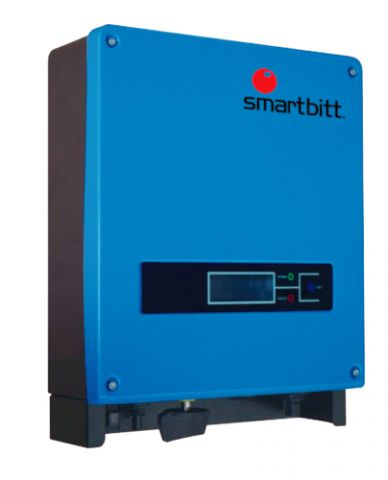 Energía solar Smartbitt SBSII5K-2P adaptador e inversor de corriente Exterior 5000 W Azul