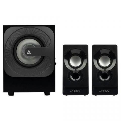 Bocina 2.1 Bluetooth  ACTECK AC-926713 - 5 W, Negro, 100 Hz- 20 kHz, 2* 2W AC-926713