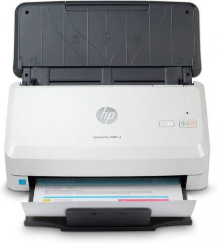 Escaner HP Scanjet Pro 2000 s2 Escáner alimentado con hojas 600 x 600 DPI A4 Negro, Blanco