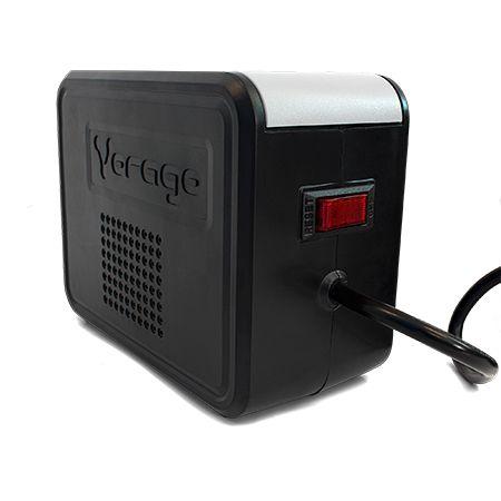 Regulador Vorago AVR-200 regulador de voltaje 8 salidas AC 110 - 120 V Negro, Blanco