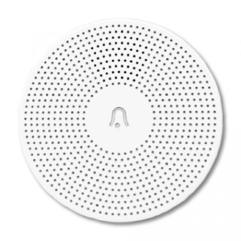 TechZone TZTIMSH01 timbre de puerta Blanco