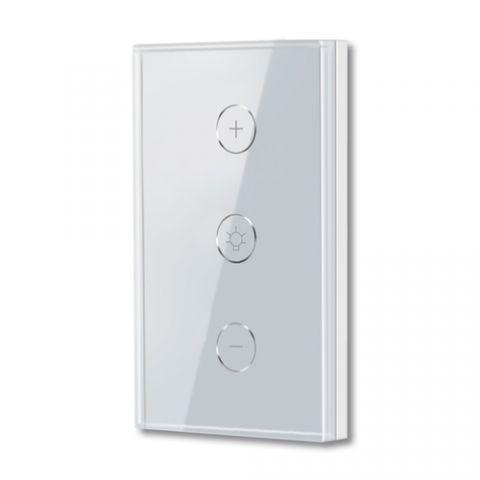 Interruptor de Luz Atenueable WiFi TECHZONE TZAPASH04 - Blanco, Inalámbrica, 50/60Hz, 100-240V TZAPASH04