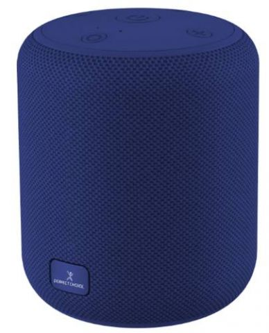Bocina Portatil PERFECT CHOICE Drum - 5 W, Azul PC-112969