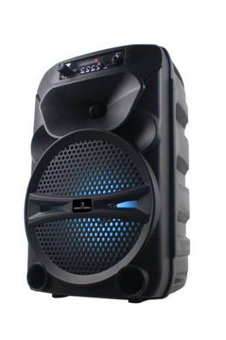 "Mini Bafle BT 8"" PERFECT CHOICE PC-112983 - Negro PC-112983"