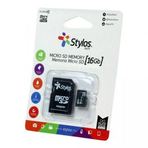 Memoria Micro SD Stylos STMS161B - 16 GB STMS161B