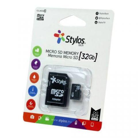 Memoria Micro SD Stylos STMS321B - 32 GB STMS321B