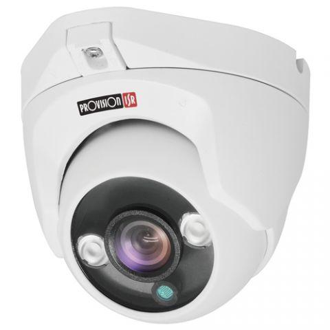 Provision-ISR DI-350A28 cámara de vigilancia Cámara de seguridad IP Interior y exterior Domo 2592 x 1944 Pixeles Techo