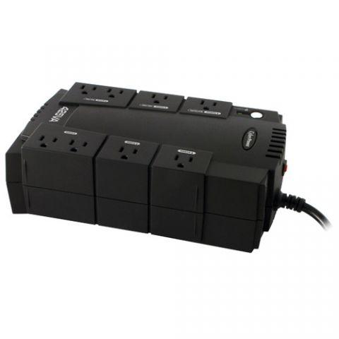 No Break y UPS CyberPower CP425SLG sistema de alimentación ininterrumpida (UPS) 425 VA 255 W 8 salidas AC