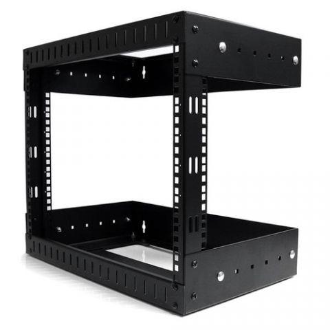 StarTech.com Rack Horizontal de Montaje en Pared de 8U con Profundidad Ajustable