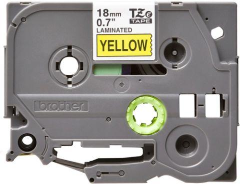 Cinta Brother TZE641 cinta para impresora de etiquetas Negro sobre amarillo TZe