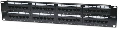 Panel de Parcheo INTELLINET - Negro, 48, 2 cm, 1, 27 kg 513579
