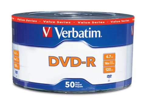 DVD-R VERBATIM - DVD-R, 50 piezas, 120 min 97493