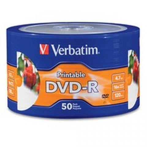 Disco DVD-R VERBATIM DVD-R - DVD-R, 50, 120 min 97167