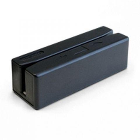Lectores de códigos de barra Unitech MS246 lector de tarjeta magnética Negro USB