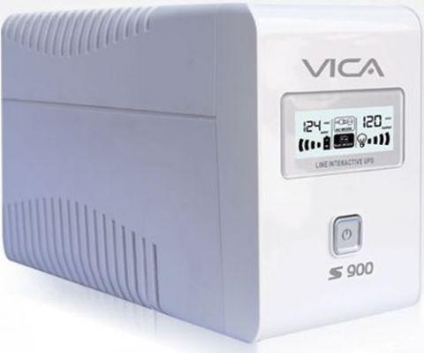 No Break y UPS Vica S900 sistema de alimentación ininterrumpida (UPS) 900 VA 600 W 6 salidas AC