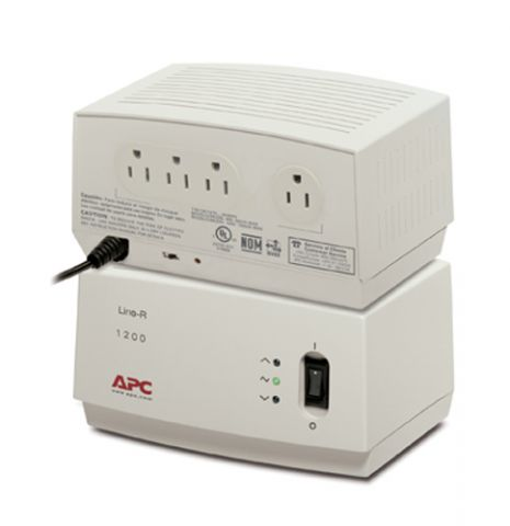 Regulador APC LE1200 Line-R Beige 4 salidas AC 120 V 1.9 m