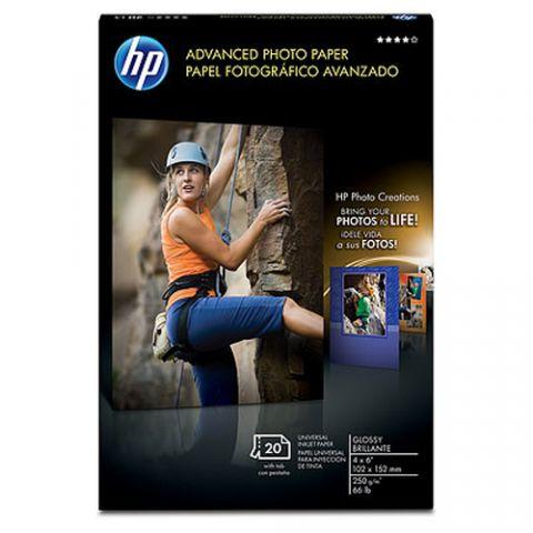 Papelería HP Advanced Glossy papel fotográfico Blanco Brillo