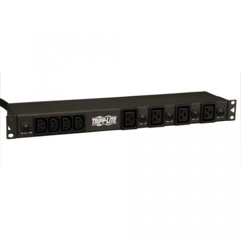 PDU Tripp Lite PDU1230 PDU Básico Monofásico de 4.8 / 5.8kW, 20 Tomacorrientes de 200/208/240V (16-C13 y 4-C19), Entrada L6-30P, cable de 4.57 m [15 pies], instalación en rack de 1U