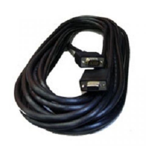 Cable VGA - HD15 MANHATTAN - 11 m, VGA (D-Sub), VGA (D-Sub), Macho/hembra, Negro 371360