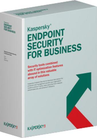 Antiviru Kaspersky Lab Endpoint Security f/Business - Select, 15-19u, 1Y, EDU Licencia educativa (EDU) 1 Año(s)