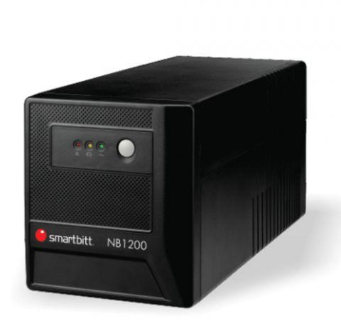 No Break y UPS Smartbitt SBNB1200 sistema de alimentación ininterrumpida (UPS) 1200 VA 600 W 8 salidas AC